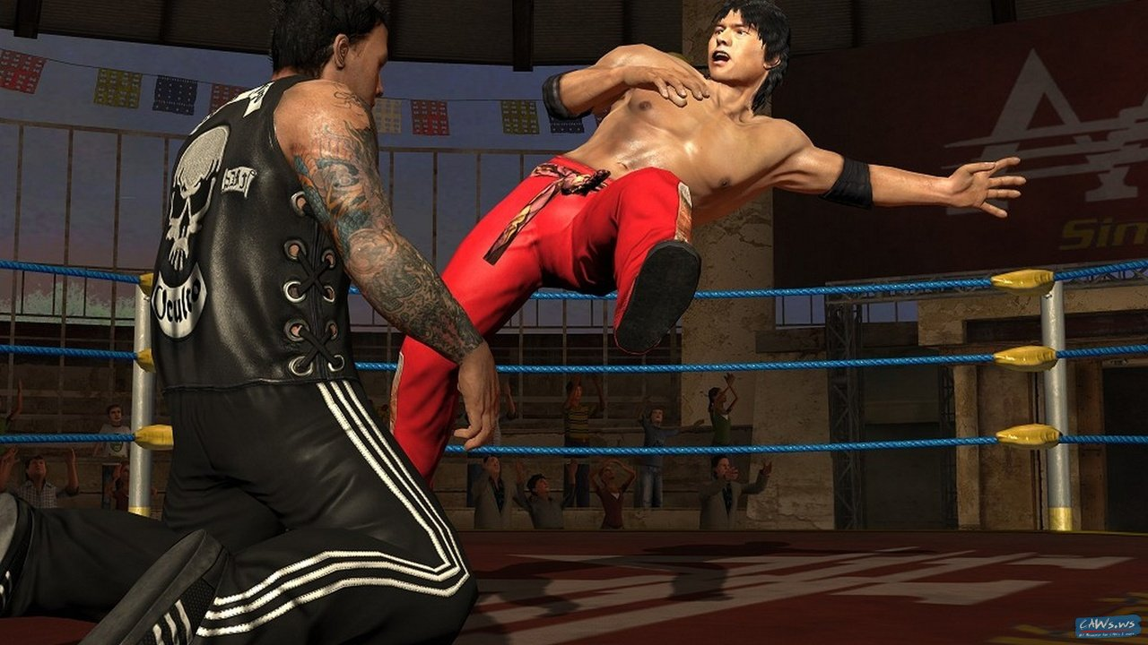 New Wrestling Game For Ps3 : Lucha libre aaa screenshots caws ws news