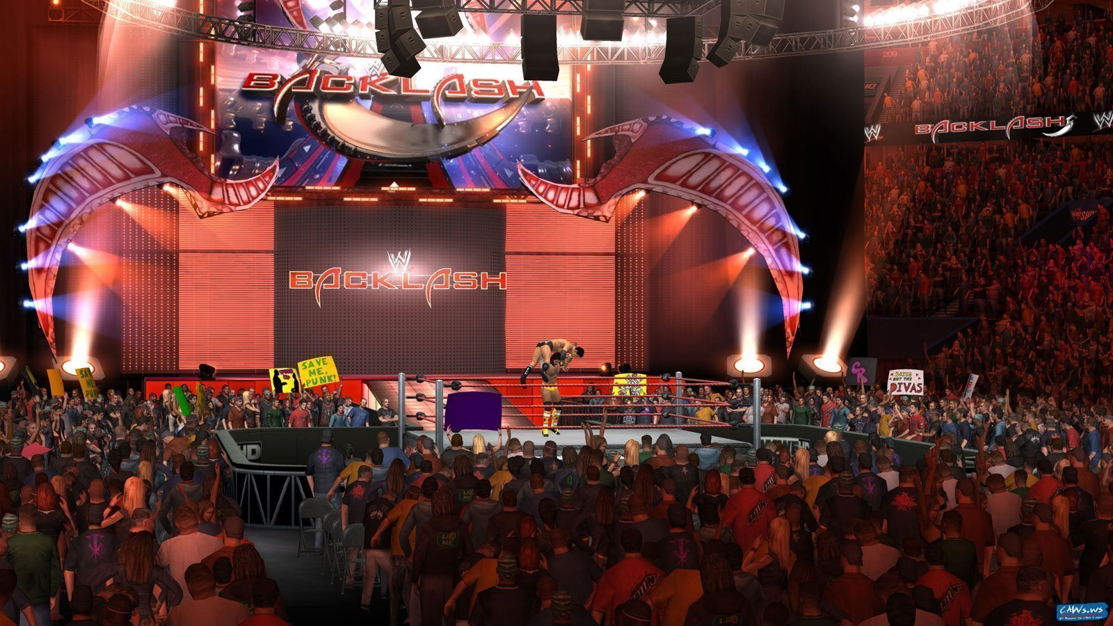 wwesvr2011_backlash_arena