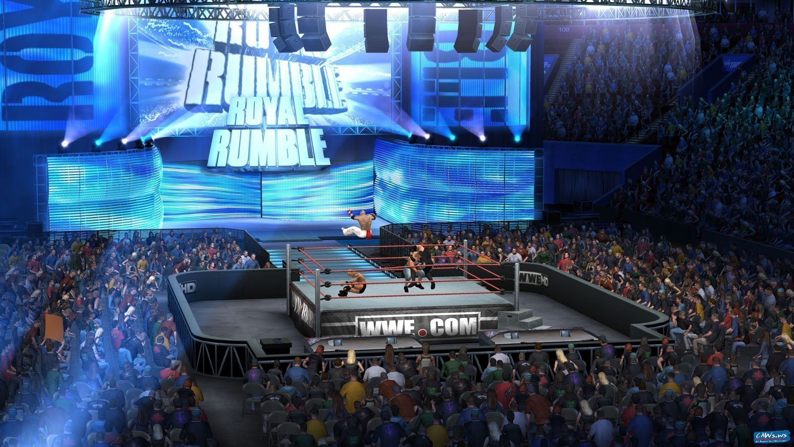 wwesvr2011_royalrumble_arena