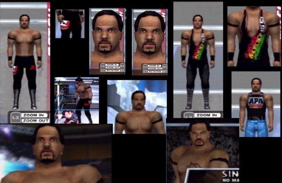cawsws farooq caw for smackdown here comes the pain