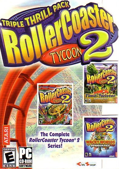 Amazon. Com: rollercoaster tycoon 2: triple thrill pack pc: video.