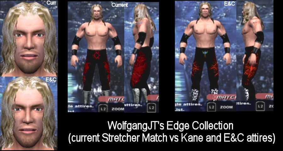 CAWs.ws Godfather CAW for SmackDown! vs RAW