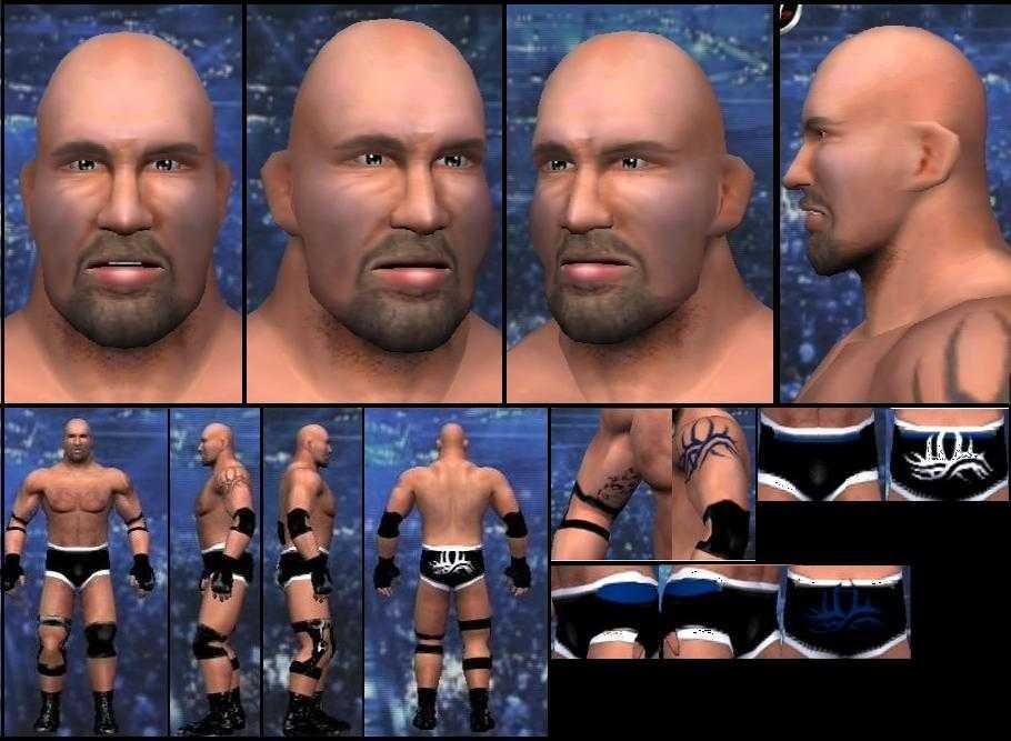CAWs.ws Lodi CAW for SmackDown! vs RAW