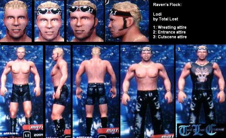 CAWs.ws Mario CAW for SmackDown! vs RAW