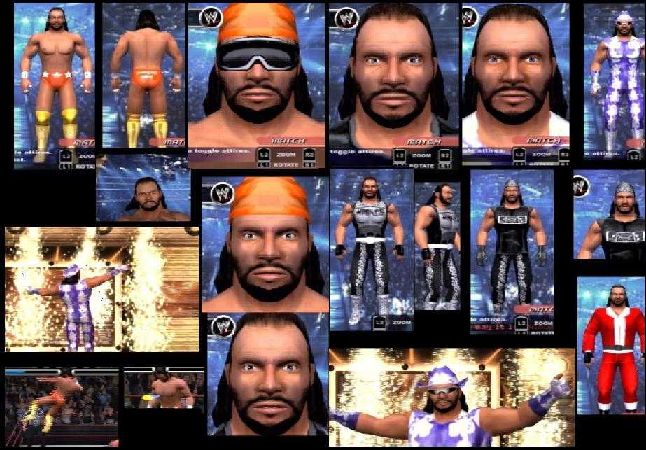 CAWs.ws DDP CAW for SmackDown! vs RAW