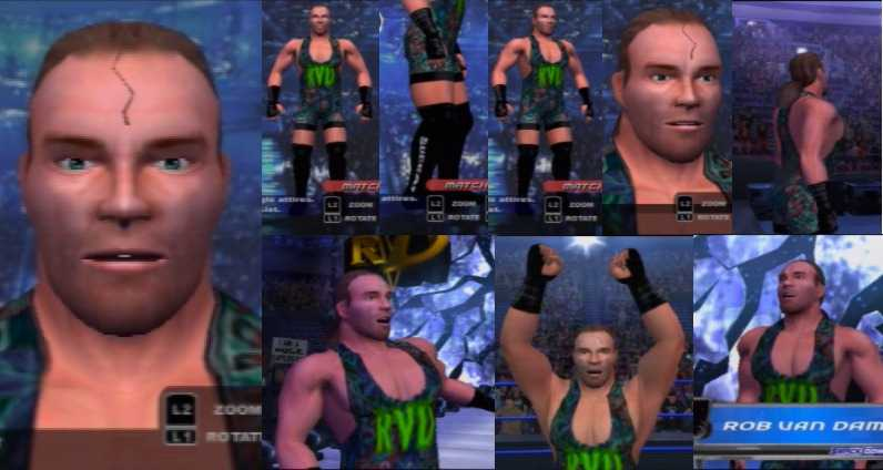 CAWs.ws Randy Savage CAW for SmackDown! vs RAW