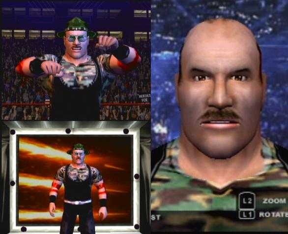 CAWs.ws Rob Van Dam CAW for SmackDown! vs RAW