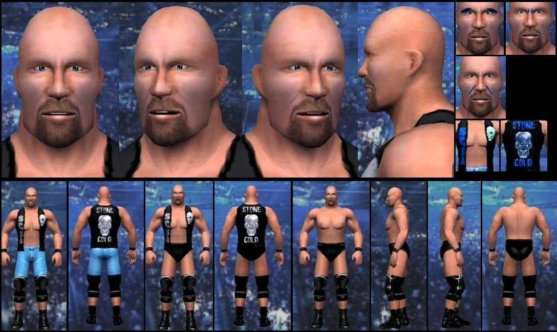 CAWs.ws Steve Austin CAW for SD! vs RAW 2007