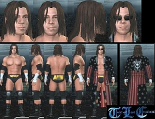 CAWs.ws Edge CAW for SmackDown! vs RAW