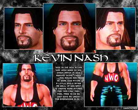 CAWs.ws Warlord CAW for SD! vs RAW 2006