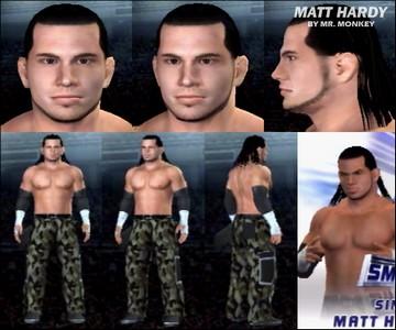 CAWs.ws Shelton Benjamin CAW for SD! vs RAW 2006