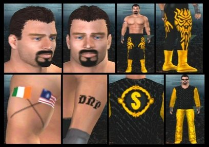 CAWs.ws Kevin Nash CAW for SD! vs RAW 2006