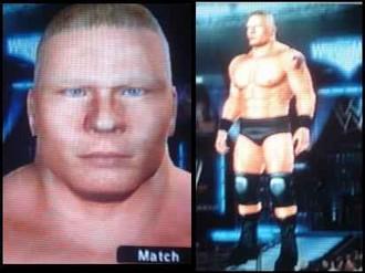 Brock Lesnar CAW for PS2/PSP - CAWS - Smacktalks Org