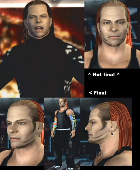 Jeff Hardy CAW for PS2/PSP. Created by kuz. Formula by tjohnnyblue