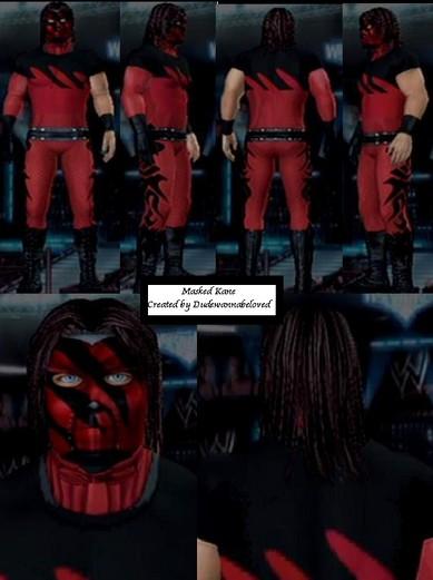 Wwe Kane Face