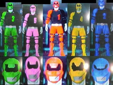 pawer rangers printable masks