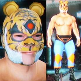 tiger mask craft blind