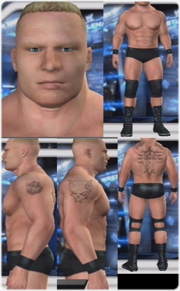 Brock Lesnar CAW (WWE Attire) for PS2 - CAWS - Smacktalks Org