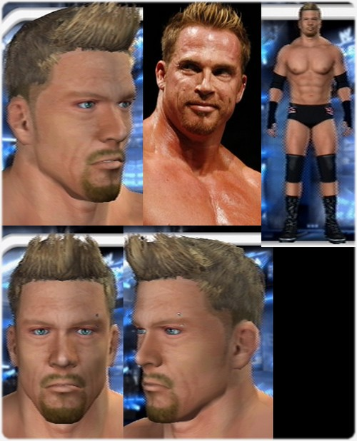 CAWs.ws AJ Styles CAW for SD! vs RAW 2008