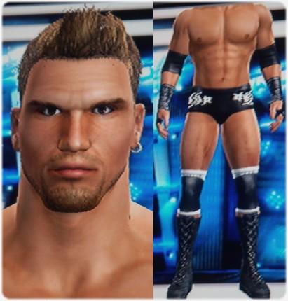 CAWs.ws Eddie Guerrero CAW for SD! vs RAW 2008