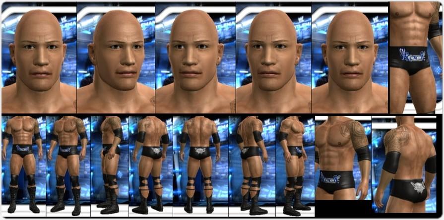 CAWs.ws Tajiri CAW for SD! vs RAW 2008