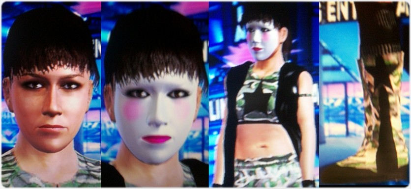 CAWs.ws Allison Danger CAW for SD! vs RAW 2009
