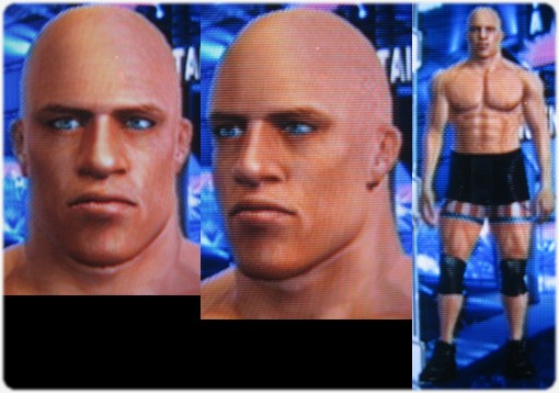 CAWs ws Kurt Angle CAW for SD! vs RAW 2009