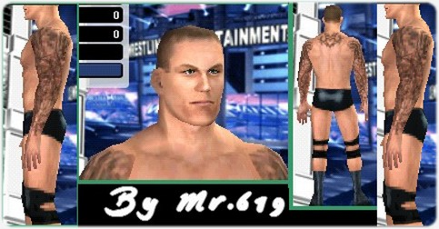 CAWs :: Randy Orton CAW for WWE SmackDown vs RAW 2009