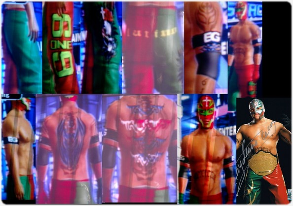 CAWs :: Rey Mysterio CAW for WWE SmackDown vs RAW 2009
