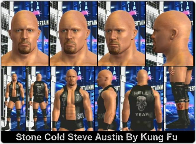 CAWs.ws Steve Austin CAW for SD! vs RAW 2010