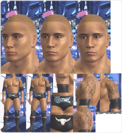 CAWs ws The Rock CAW for SD! vs RAW 2009