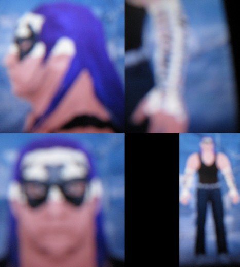 CAWs.ws Jeff Hardy CAW for SD! vs RAW 2010Jeff Hardy Wrestlemania 25 Face Paint
