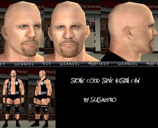 CAWs.ws Stone Cold Steve Austin CAW for SmackDown! vs RAW