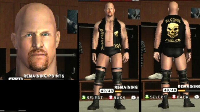 CAWs.ws Stone Cold CAW for SD! vs RAW 2010