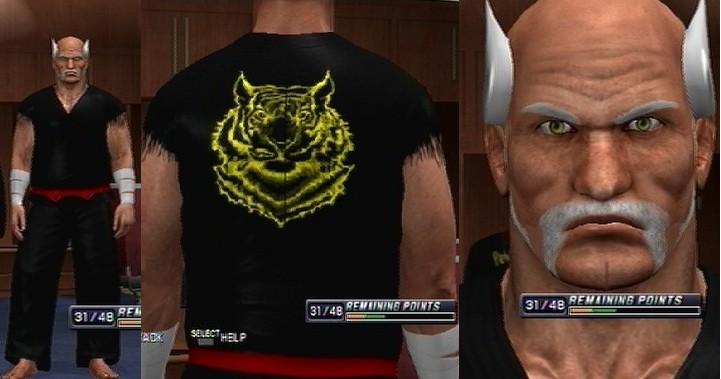 Caws Ws Heihachi Mishima Caw For Sd Vs Raw 2011