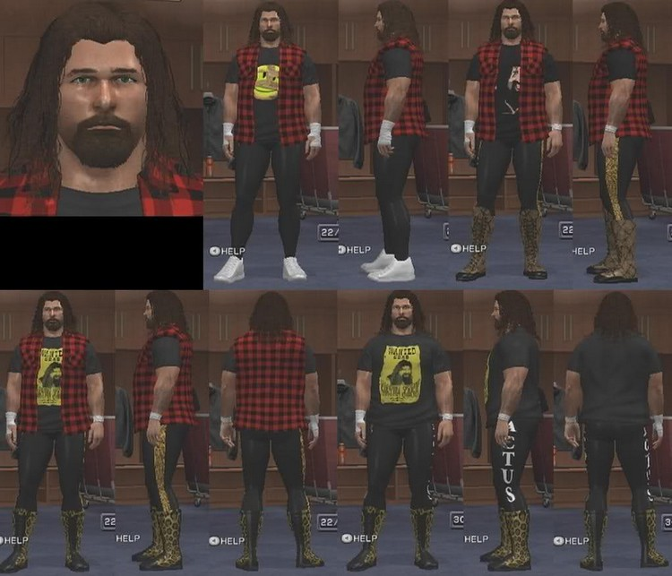 Caws Ws Mick Foley Caw For Sd Vs Raw 2011