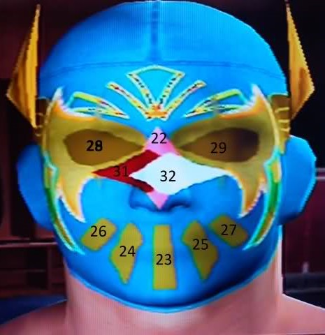 sin cara mask off. sin cara without mask on.