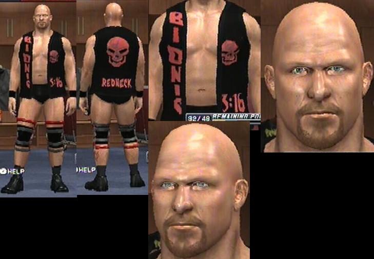CAWs.ws Stone Cold Steve Austin CAW for SD! vs RAW 2010