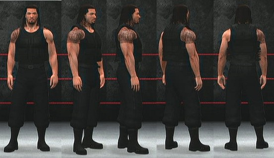 8df7e9976 Roman Reigns CAW (now downloadable from xbox live) - WWE '13 ...
