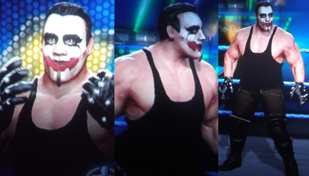 CAWs.ws Sting CAW for WWE All Stars