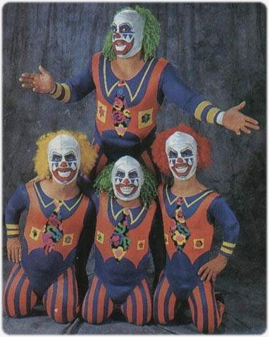 Clown legend Midget