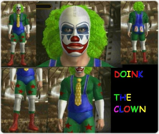 CAWs.ws Doink the Clown CAW for WWE Legends of Wrestlemania